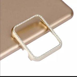 New 38mm Gold Rhinestone Apple Watch Protector